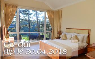 KHUYẾN MÃI khai trương 30/04/2018: trọn gói phòng ngủ